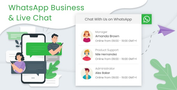 WhatsApp Business & Live Chat